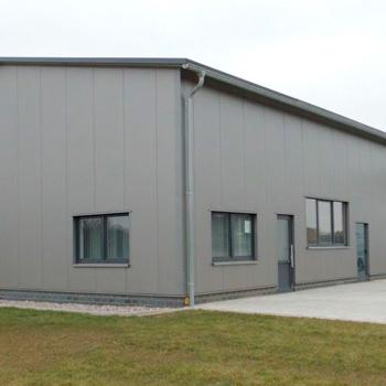 Fassadensysteme aus Metall, Alumenium, Isopanel