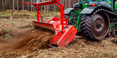 Forstmulcher FMH 680 Maschinenbau Schmidt