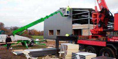 Wandbau von Schmidt Stahlbau Maschinenbau