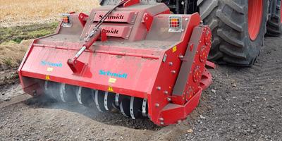 Rodungsfräse RFH 850 produziert von Schmidt Maschinenbau