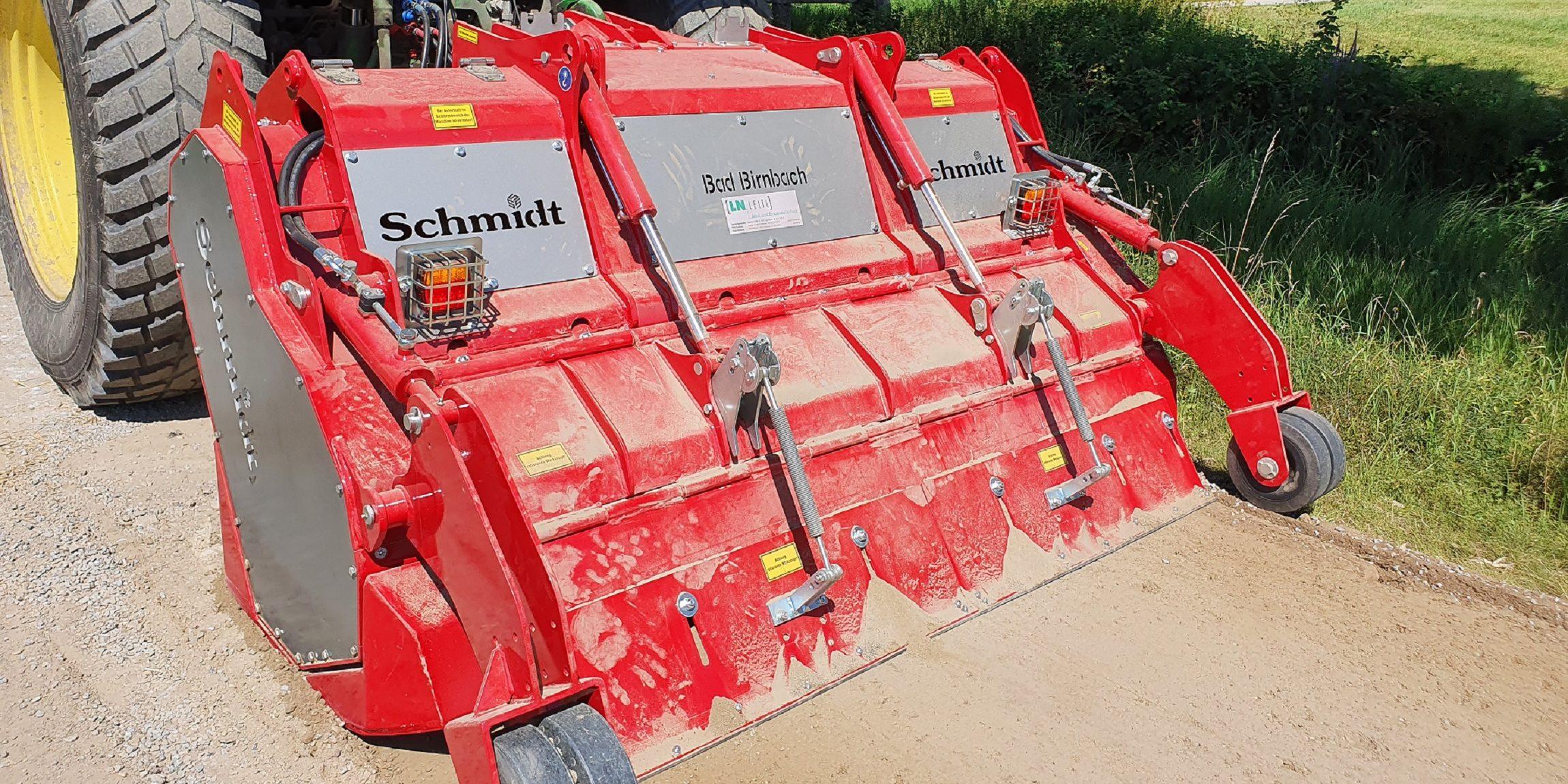 Rodungsfräse RFL 590 von Schmidt Maschinenbau