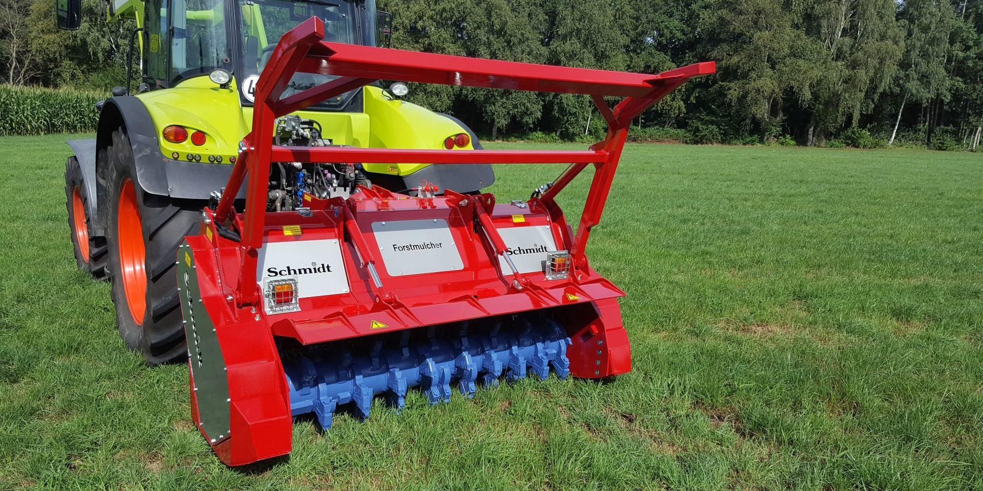 Forstmulcher FML 560 Maschinenbau Schmidt